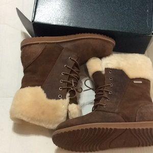 348cc7b70d Emu Shoes | New Brown Australia Boot Shoreline Leather Oak | Poshmark